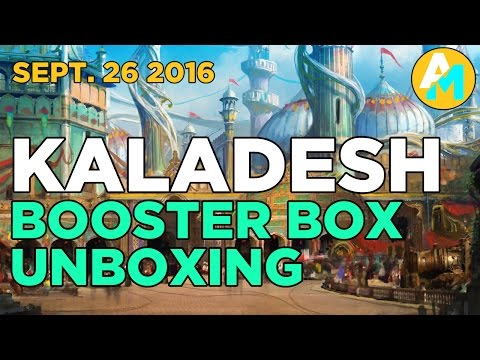 Kaladesh Booster Box Unboxing - Sept 26 2016