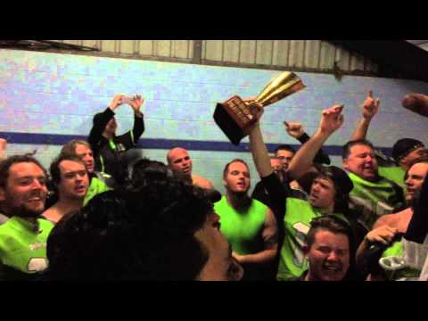 Pakenham Silverbacks sing the song (15 August, 2015)