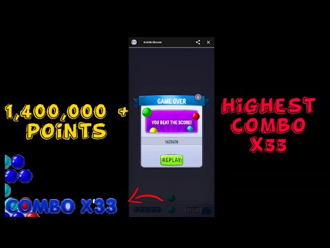 How To Get 1,000,000+ Points In Bubble Shooter   FB Games