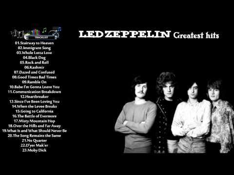 LED ZEPPELIN - Led Zeppelin Greatest Hits All Time In One - Best Songs Of Led Zeppelin New