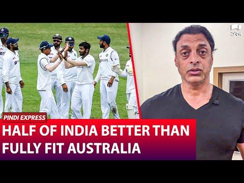 Half of India better than fully fit Australia | IndiaVSAustralia 2021 | Shoaib Akhtar | SP1N