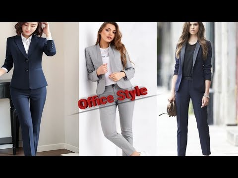 Awesome Women Office Wear Formal Pant ,Shirt And Blazer Style/Beautiful Formal Dress For Ladies