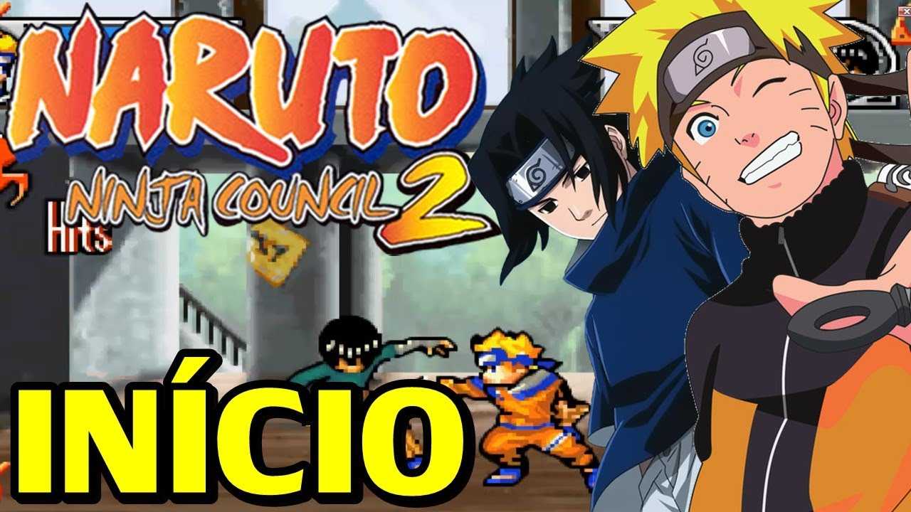 naruto ninja council 2 para gba em portugues