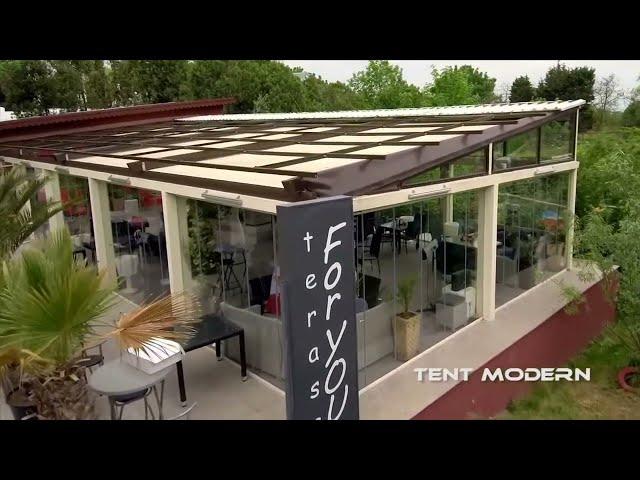 Pergola Flopper -Tent Modern (terasa For You)