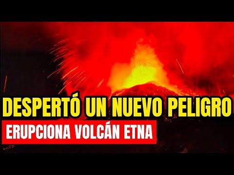 ¡Se Incendia La Tierra, Despierta Un Nuevo Peligro! Volcán ETNA Hace Erupción Justo Ahora