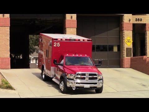 Glendale Fire Dept. BLS 25 Responding (x3)
