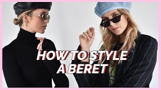 HOW TO STYLE A BERET X5 | MODEROSA