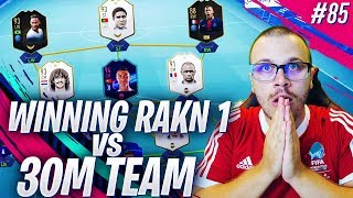 FIFA 19 WINNING RANK 1 in DIVISION 1 vs 30 MILLION COIN SQUAD! MY DIVISION RIVALS JOURNEY