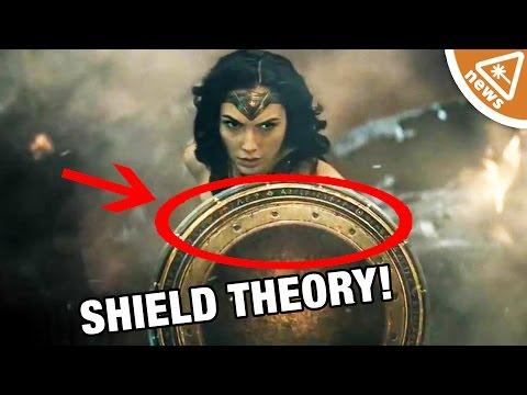 What Does Wonder Woman's Shield Mean in Batman v Superman?