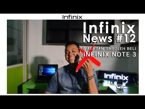 Infinix News #12 - 8 Alasan Gaboleh Beli Infinix Note 3