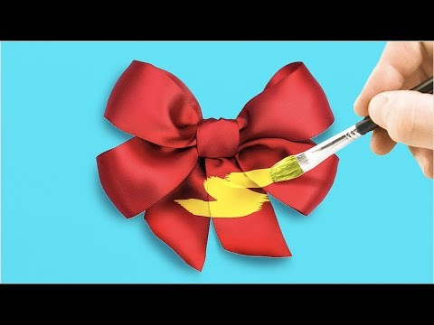 10 CUTE CRAFTS WITH RIBBONS