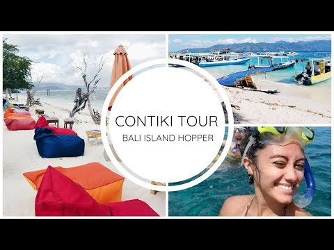 Island Hopping With Contiki | Bali, Gili T, and Lombok + Contiki Review!