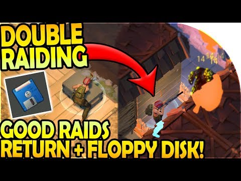 DOUBLE RAIDING (GOOD RAIDS RETURN + FLOPPY DISK LOOT!) - Last Day On Earth Survival Update 1.8.7