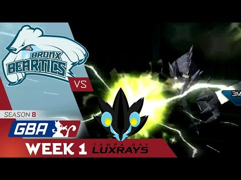 """WHAT A START"" Bronx Beartics vs Tampa Bay Luxrays! GBA S8 W1! Pokemon Ultra Sun & Moon Wi-Fi Battle"