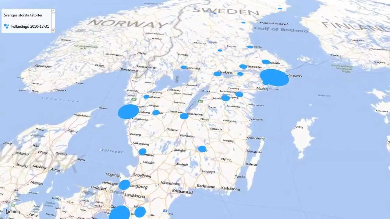 sveriges 10 största städer 2018
