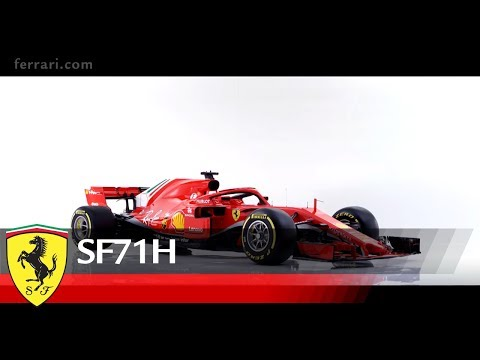 ferrari reveals sf71h 2018 formula 1 car. Black Bedroom Furniture Sets. Home Design Ideas