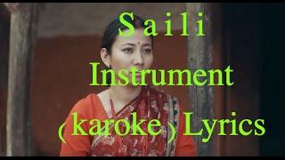 Saili instrumental karoake with lyrics Hemant rana