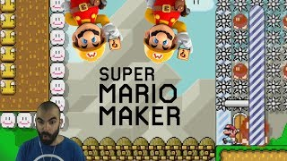 Rick rolled and trolled | mario maker | twitch viewer levels
