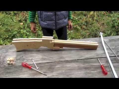 armbrust selber bauen homemade compound crossbow 03. Black Bedroom Furniture Sets. Home Design Ideas