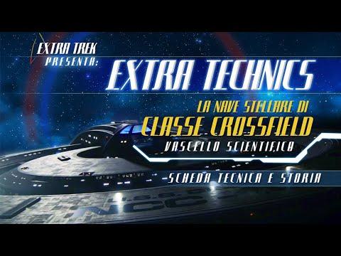 Star Trek: Nave Stellare di Classe Crossfied - Vascello Scientifico - Scheda Tecnica e Storia - 2021