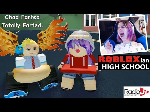 FUNNY MOMENTS in Roblox ROBLOXIAN HIGH SCHOOL with CHAD!