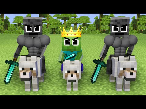 Monster School : Good Strong Zombie Prince and Bad Herobrine - Sad Story - Minecraft Animation