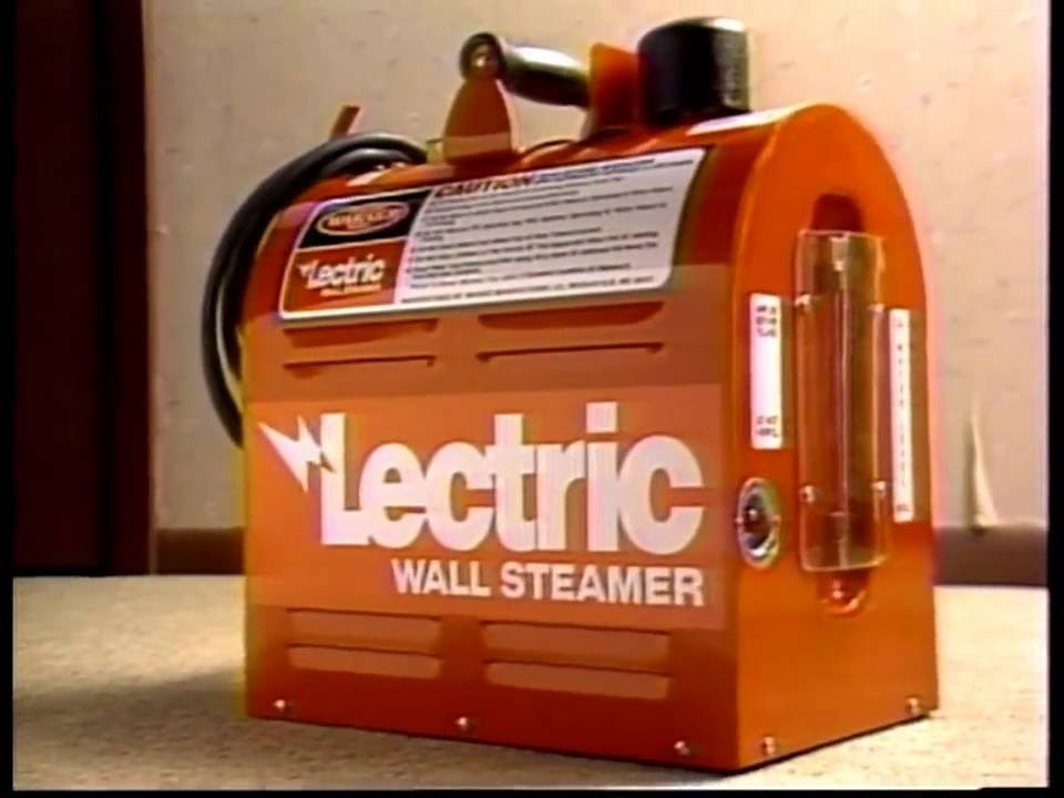 Warner Lectric Wallpaper Steamer - YouTube