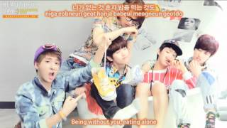 B1A4 (?????) Because of You ? ??? Eng Sub + Han/Rom MP3