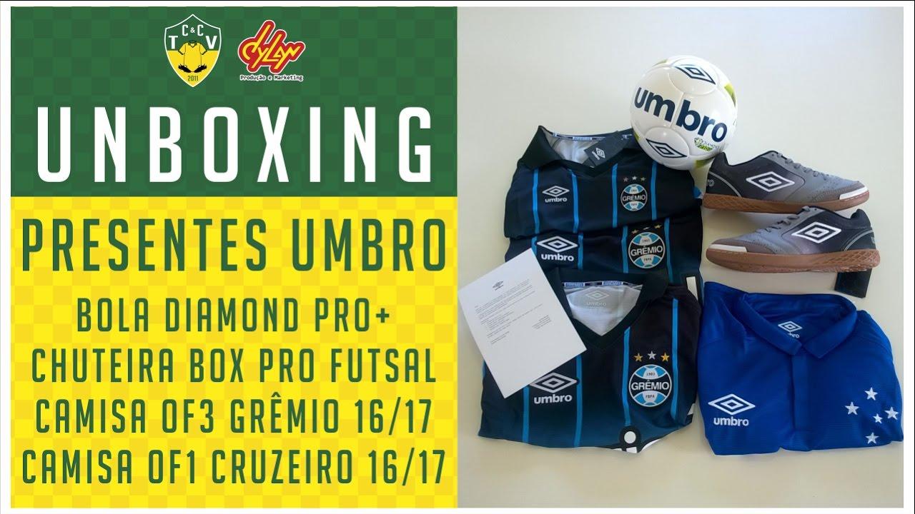 370e524d67652 UNBOXING PRESENTES UMBRO BRASIL - BOLA DIAMOND PRO+ FUTSAL