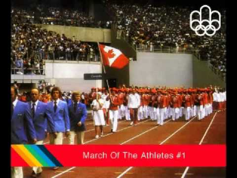 Montreal 1976 Olympics Music - Victor Vogel - The March of the Athletes #1