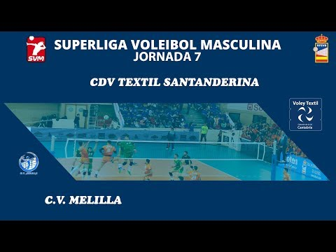 SVM1819 - Jornada 7 - Voley Textil Santanderina vs CV Melilla