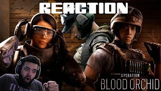 Rainbow Six Siege Blood Orchid New Operators Gameplay Reaction |TheInvasionShow|