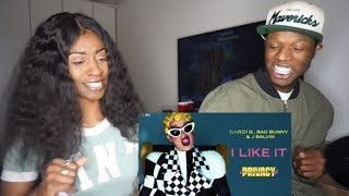 Cardi B, Bad Bunny & J Balvin - I Like It [Official Audio] | Holly Sdot REACTION
