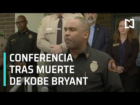 Conferencia de prensa tras muerte de Kobe Bryant - Las Noticias