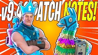 NEW Birthday Llama Event & Birthday Brigade Jonesy! v9.40 Patch Notes | Fortnite Save The World