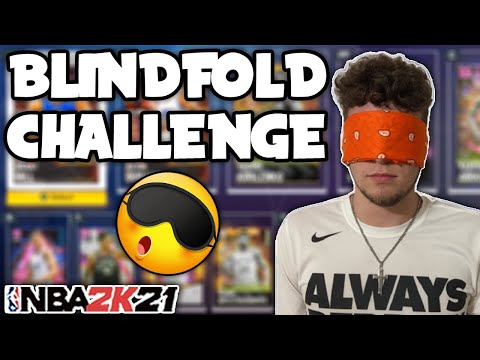 CAN I WIN A GAME OF UNLIMITED WHILE BLINDFOLDED?!? NBA 2K21 MyTEAM |
