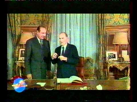 La partie de cache-cache avec Chirac et Mitterand