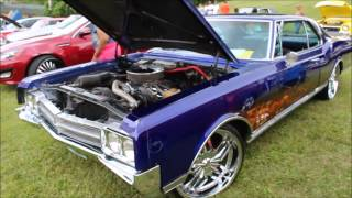 1966 Flamed Oldsmobile Starfire on 22's