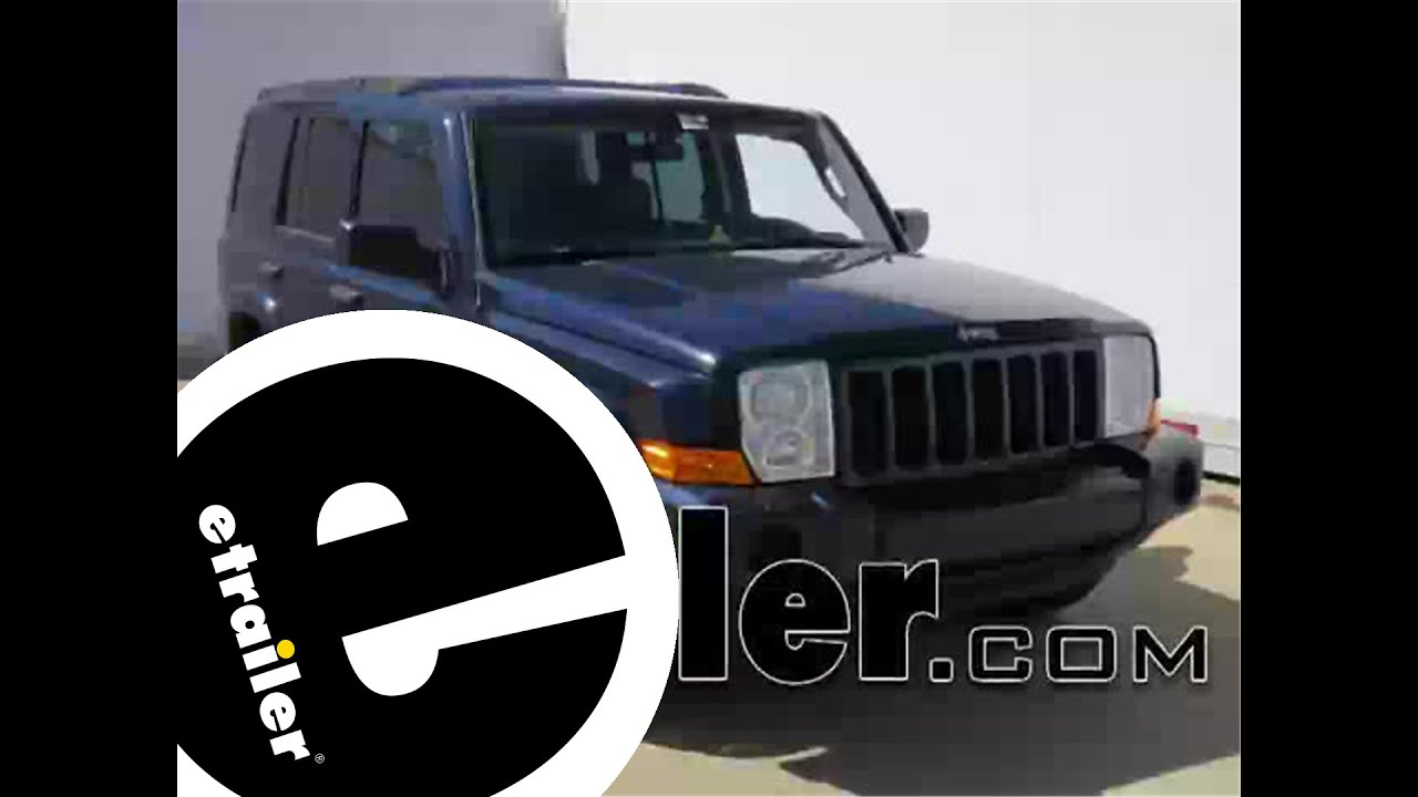 trailer wiring harness installation 2006 jeep commander etrailer com Jeep Trailer Wiring Harnesses