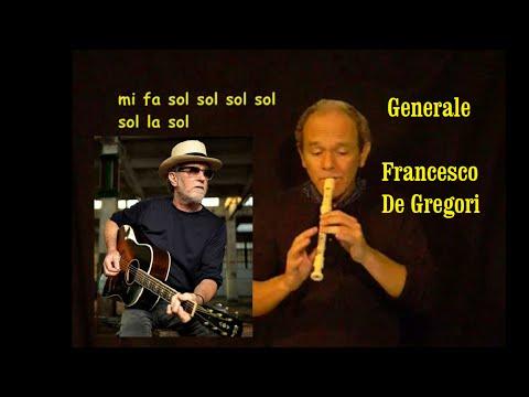 Generale (Francesco De Gregori + spartito)