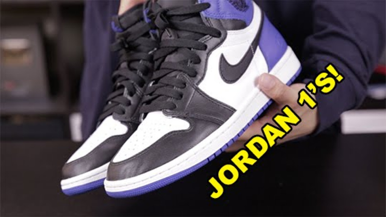 3 WAYS TO LACE YOUR JORDAN 1'S - YouTube