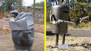 Most Creative, Weird and Funny Mailboxes ever seen