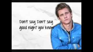 Luke Benward - Had Me @ Hello - Lyrics