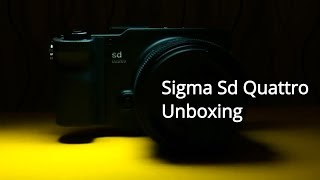 Unboxing: Sigma Sd Quattro, the FOVEON BEAST