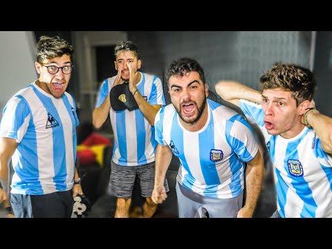 Reacciones De Amigos | Argentina Vs Paraguay | Copa America 2019