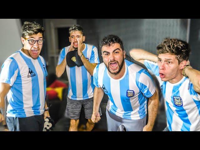 Reacciones de Amigos   Argentina vs Paraguay   Copa America 2019