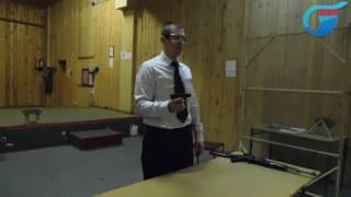 Упражнение №2, сдача экзамена по безопасному обращению с оружием
