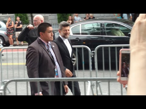 Andy Serkis - War for the Planet of the Apes NY Premiere