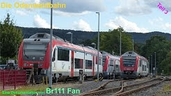 Odenwaldbahn Teil 3 Groß Umstadt Wiebelsbach - Eberbach (2016) Eine Dokumentation von Br111 Fan