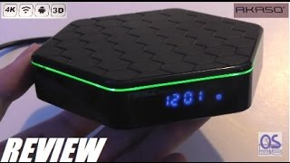 REVIEW: AKASO T95Z Plus - 4K 3D Android 6.0 TV Smart Box!